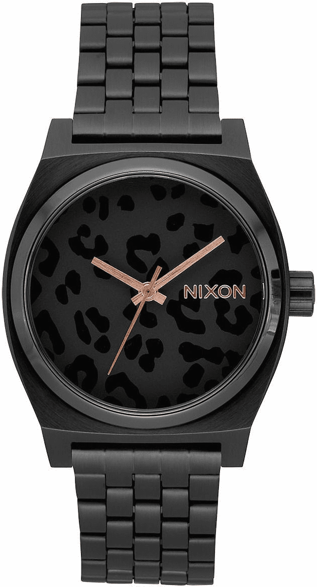 Nixon Time Teller Watch<br>All Black/Cheetah