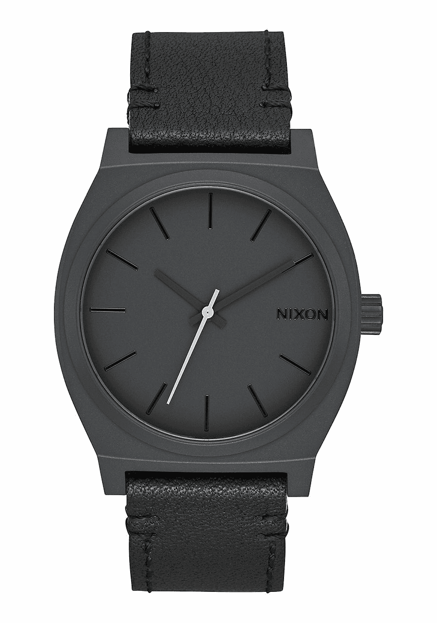 (SALE!!!) Nixon Time Teller Watch<br>All Black/Slate