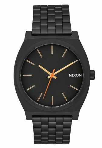 Nixon Time Teller Watch<br>All Black/Surplus