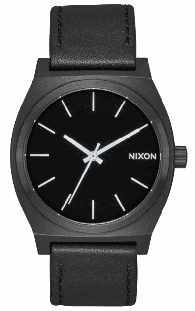 Nixon Time Teller Watch<br>All Black/White