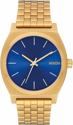 Nixon Time Teller Watch<br>All Gold/Blue Sunray