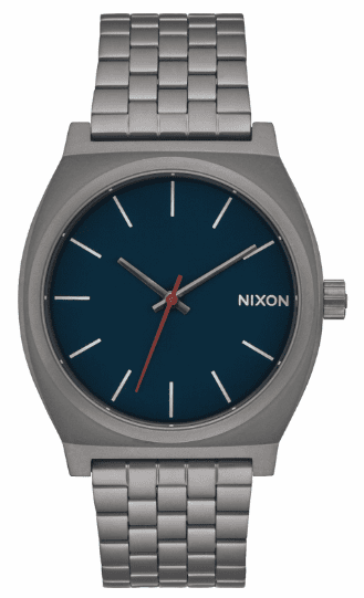 Nixon Time Teller Watch<br>All Gunmetal/Dark Blue