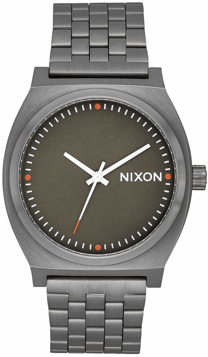 Nixon Time Teller Watch<br>All Gunmetal/Slate/Orange