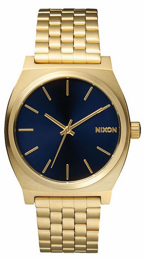 Nixon Time Teller Watch<br>All Light Gold/Cobalt