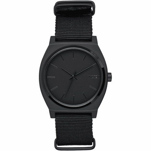 (SALE!!!) Nixon Time Teller Watch<br>All Matte Black