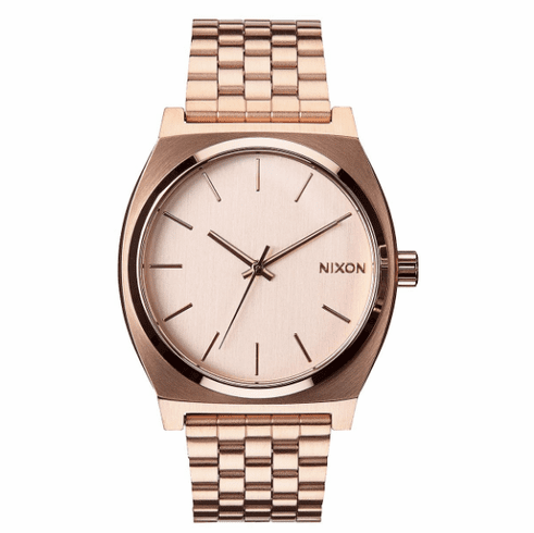 Nixon Time Teller Watch<br>All Rose Gold