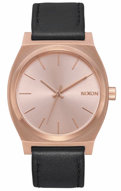 (SALE!!!) Nixon Time Teller Watch<br>All Rose Gold/Black