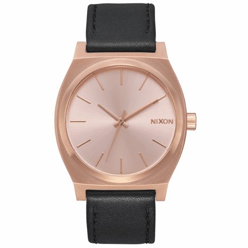 Nixon Time Teller Watch<br>All Rose Gold/Black