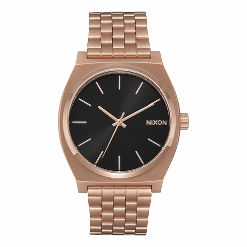 Nixon Time Teller Watch<br>All Rose Gold/Black Sunray
