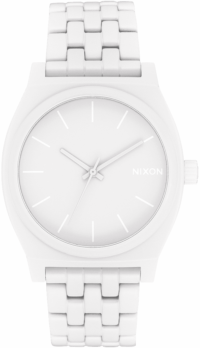 Nixon Time Teller Watch<br>All White