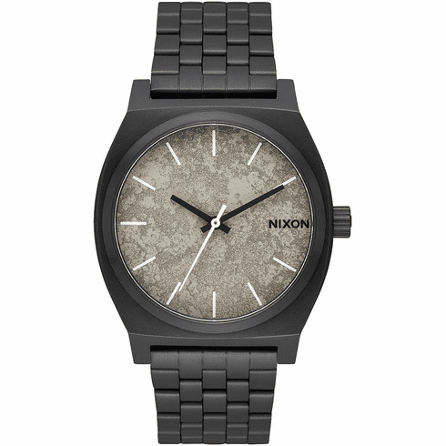 Nixon Time Teller Watch<br>Black/Concrete