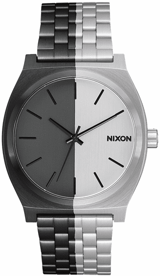 Nixon Time Teller Watch<br>Black/Split