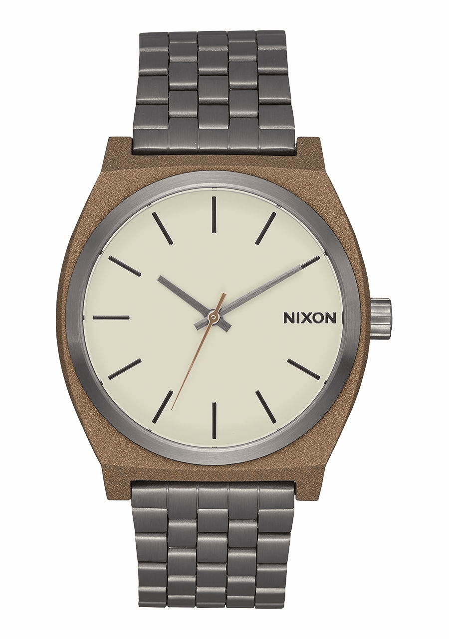Nixon Time Teller Watch<br>Bronze/Gunmetal