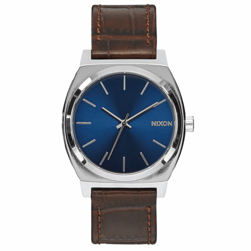 Nixon Time Teller Watch<br>Brown Gator