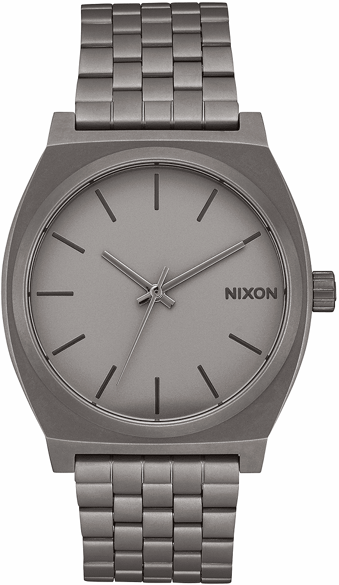 Nixon Time Teller Watch<br>Dark Steel