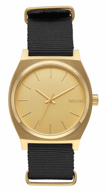 Nixon Time Teller Watch<br>Gold/Black