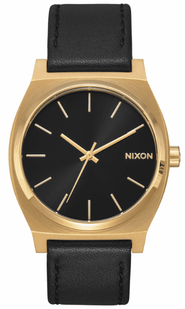 Nixon Time Teller Watch<br>Gold/Black/Black