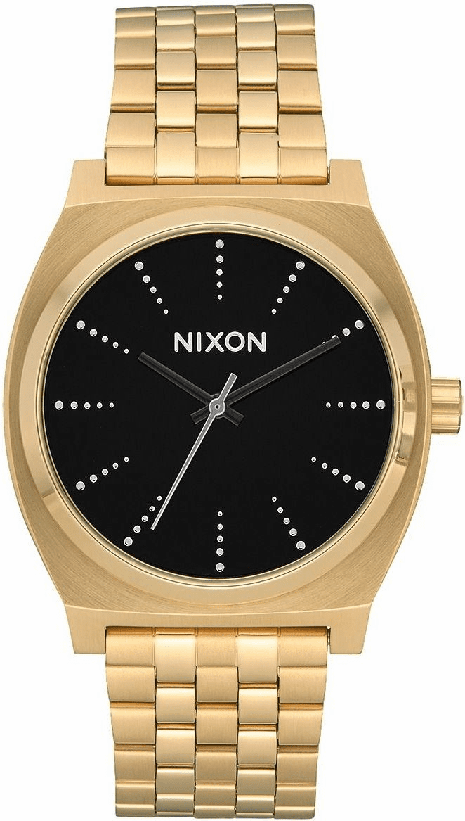Nixon Time Teller Watch<br>Gold/Black/Silver