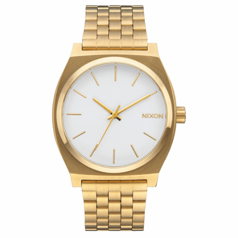 Nixon Time Teller Watch<br>Gold/White