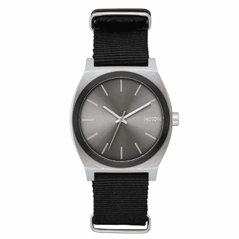 (SALE!!!) Nixon Time Teller Watch<br>Gunmetal Sunray/Black