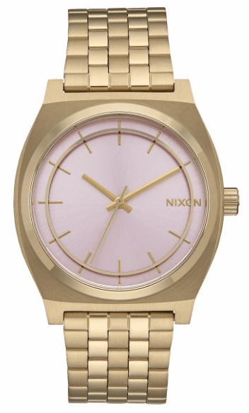 Nixon Time Teller Watch<br>Light Gold/Pink