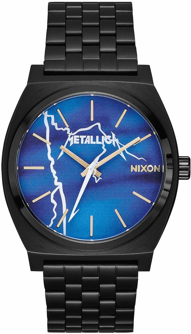 Nixon Time Teller Watch<br>METALLICA X NIXON<br>Ride the Lightning