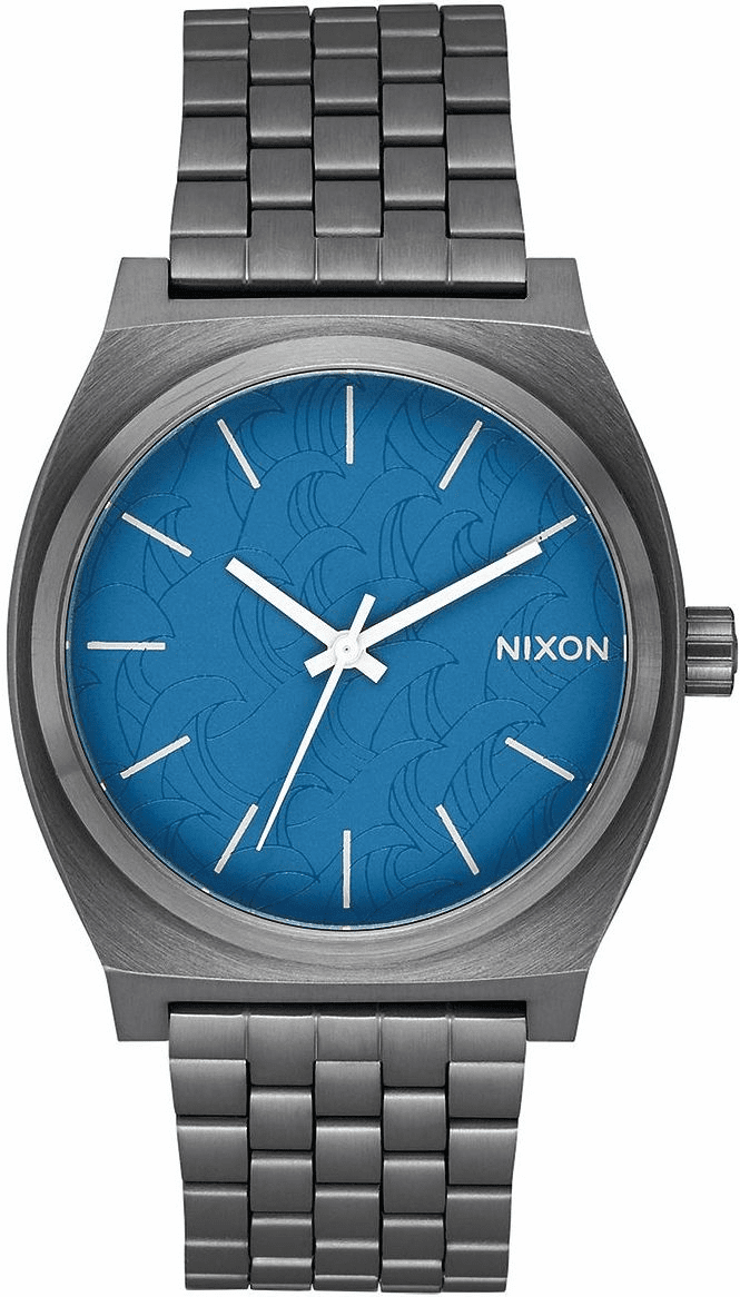 Nixon Time Teller Watch<br>Navy/Gunmetal