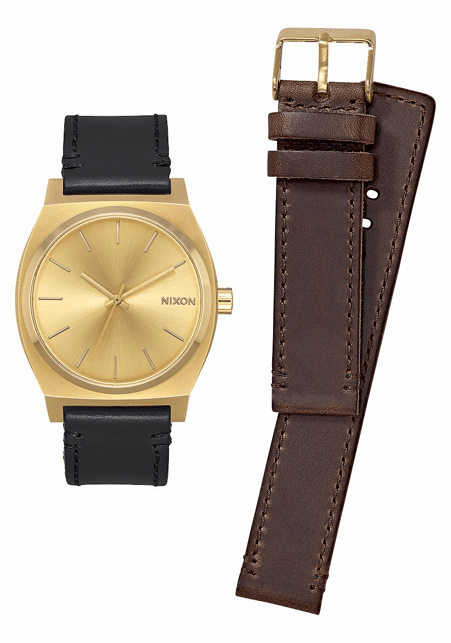 Nixon Time Teller Watch Pack<br>All Gold/Black/Brown