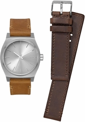 Nixon Time Teller Watch Pack<br>All Silver/Brown/Tan