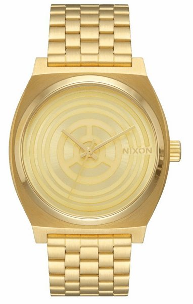 Nixon Time Teller Watch<br>STAR WARS X NIXON<br>C-3PO Gold