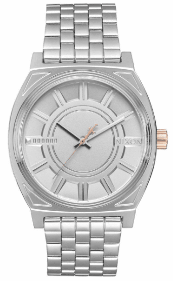 Nixon Time Teller Watch<BR>STAR WARS X NIXON<br>Phasma Silver