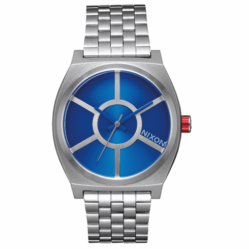 Nixon Time Teller Watch<br>STAR WARS X NIXON<br>R2D2 Blue