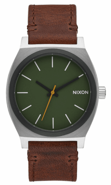 Nixon Time Teller Watch<br>Surplus/Brown