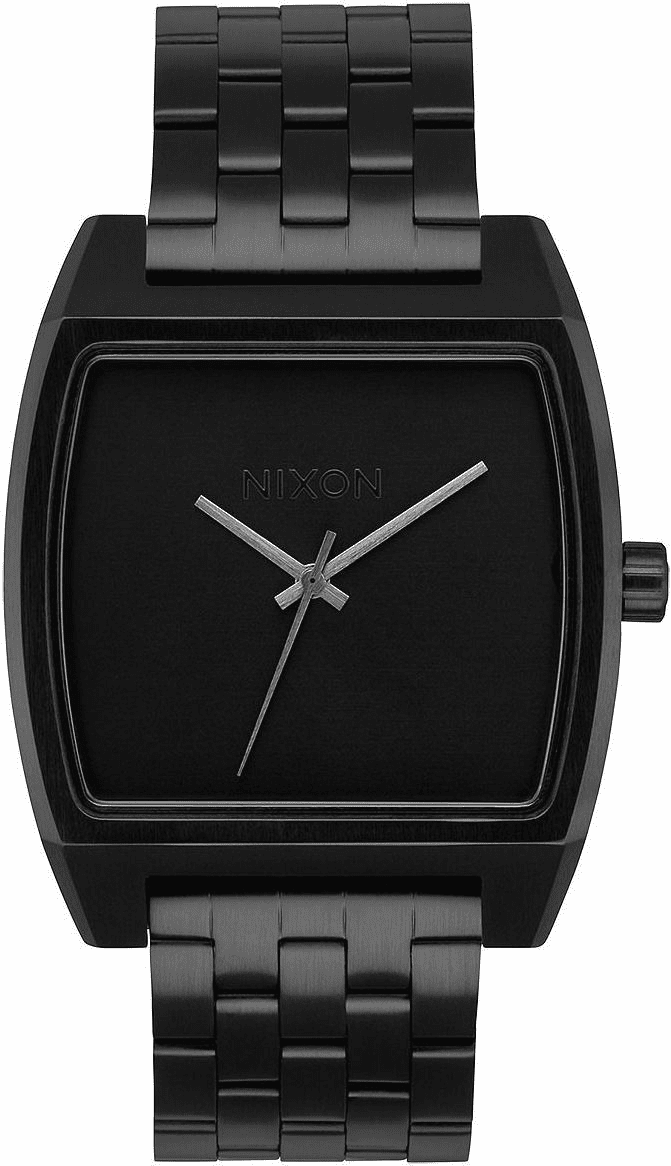 Nixon Time Tracker Watch<br>All Black