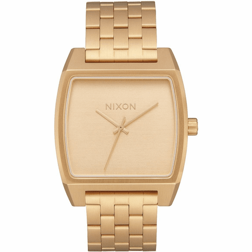 Nixon Time Tracker Watch<br>All Gold