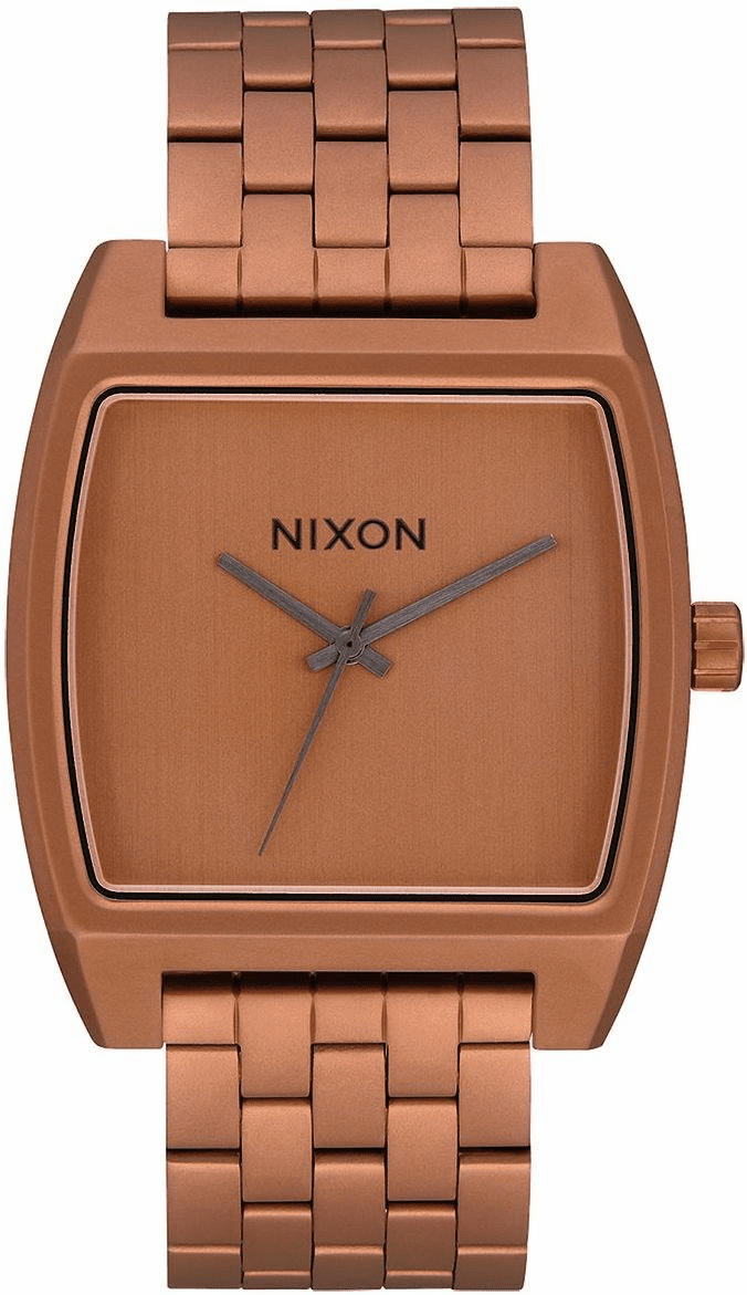 Nixon Time Tracker Watch<br>Matte Copper/Gunmetal
