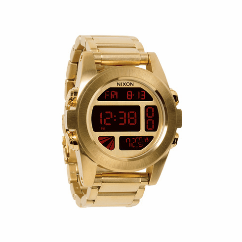 Nixon Unit SS Watch<br>All Gold