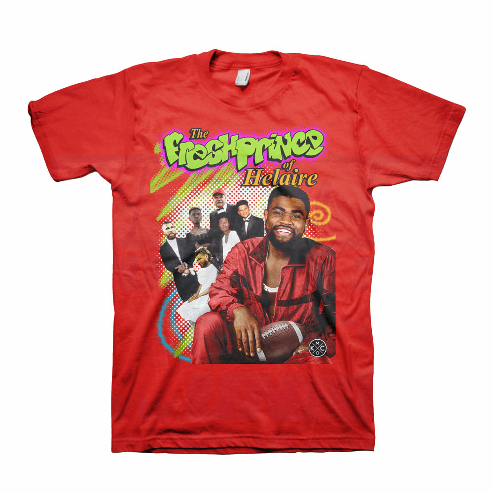 Fresh Prince of Helaire Red Tee