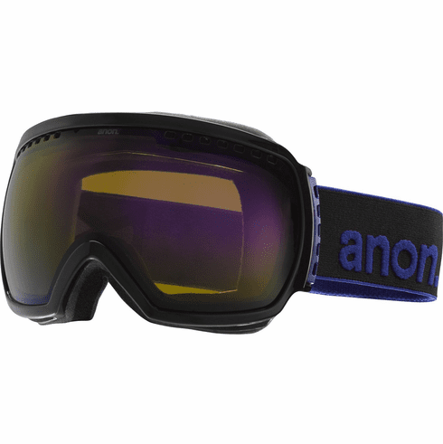 (Sale!!!) Anon Optic Comrade Snow Goggles<br>Black/Blue Solex