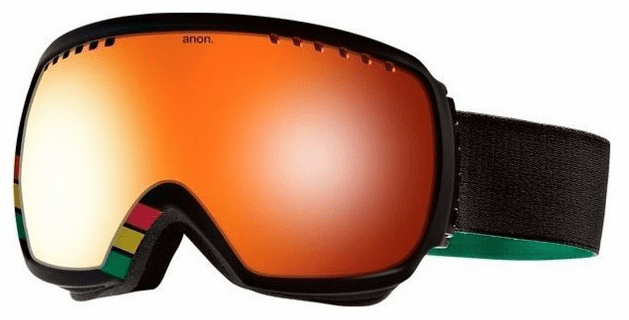(Sale!!!) Anon Optic Comrade Snow Goggles<br>Mi Yard/Red Solex