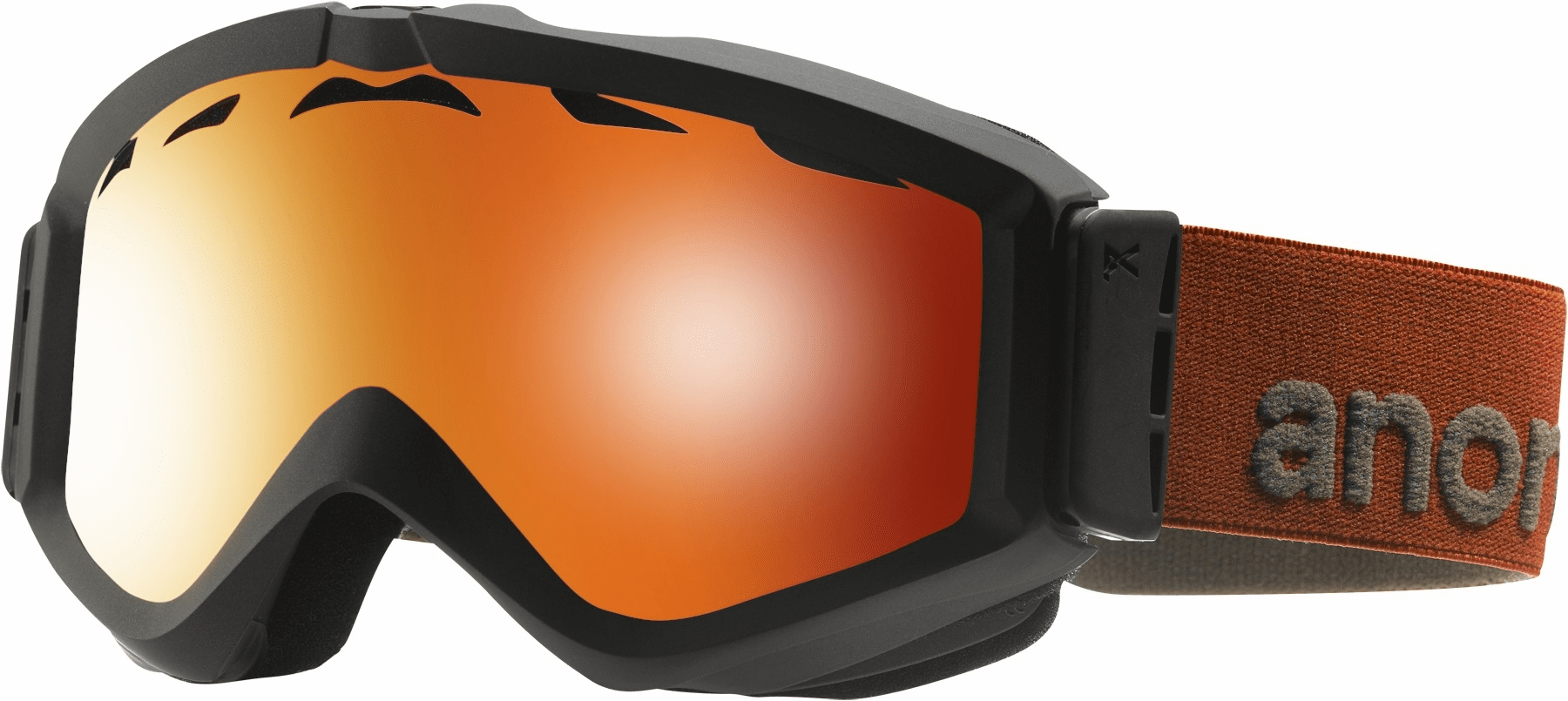 (Sale!!!) Anon Optic Figment Snow Goggles<br>Lead/Red Solex