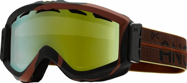 (Sale!!!) Anon Optic Figment Snow Goggles<br>Steel Drum/Gold Chrome