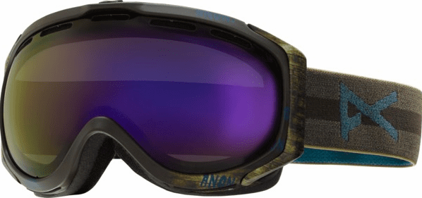 (Sale!!!) Anon Optic Hawkeye Snow Goggles<br>Sherpa/Blue Cobalt