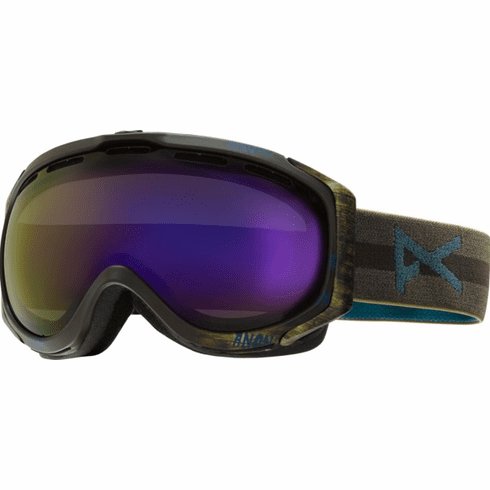 12d4c483c20 (Sale!!!) Anon Optic Hawkeye Snow Goggles br Sherpa Blue Cobalt