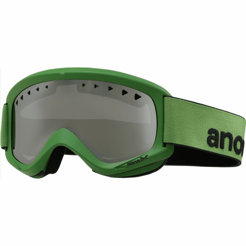 (Sale!!!) Anon Optic Helix Snow Goggles<br>Grashopper/Silver Amber<br>+ Spare Lens
