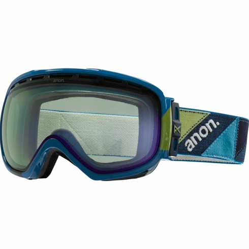 (Sale!!!) Anon Optic Insurgent Snow Goggles<br>Triple/Blue Lagoon
