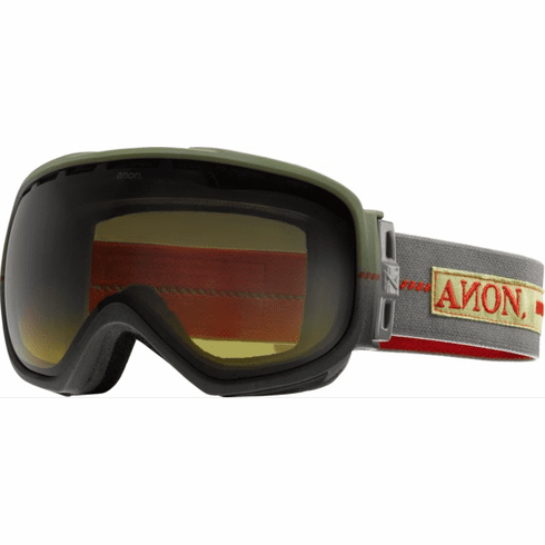 (Sale!!!) Anon Optic Insurgent Snow Goggles<br>Union/Yellow Gradient