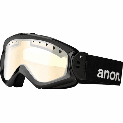 (Sale!!!) Anon Optic Majestic Snow Goggles<br>Black/Silver Amber