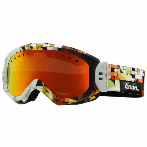 (Sale!!!) Anon Optic Majestic Snow Goggles<br>Chop/Red Solex