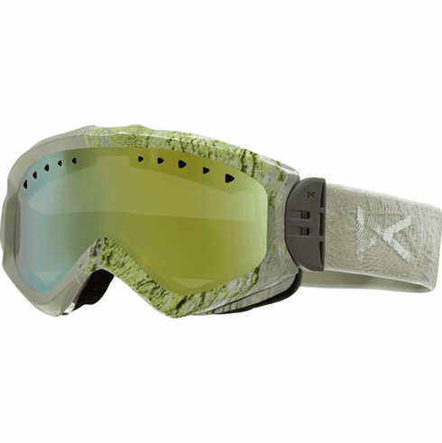 (Sale!!!) Anon Optic Majestic Snow Goggles<br>Grain/Gold Chrome